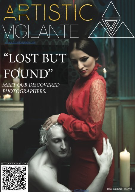Artistic Vigilante vol 1,issue 1  ''LOST BUT FOUND''