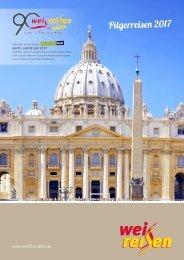 Katalog Pilgerreisen 2017