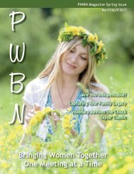 PWBN Magazine 2017 Spring Issue