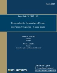 Responding to Cybercrime at Scale Operation Avalanche – A Case Study