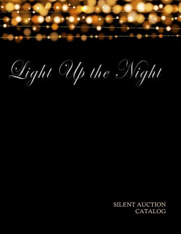 Light Up the Night Catalog