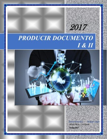 CARTILLA PRODUCIR DOCUMENTOS