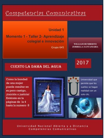 Revista Momento 1 Taller 2 Aprendizaje colegial e innovación.
