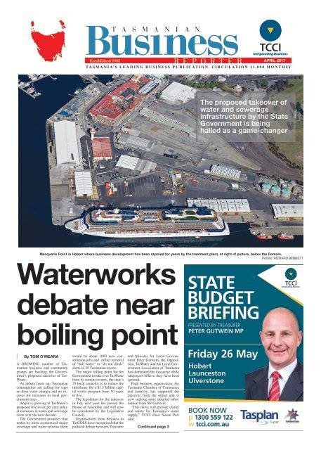 Tasmanian Business Reporter April 2017