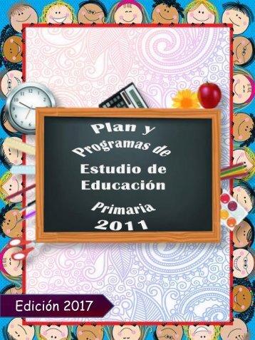 REVISTA Plan de Estudios 2011. FINAL2