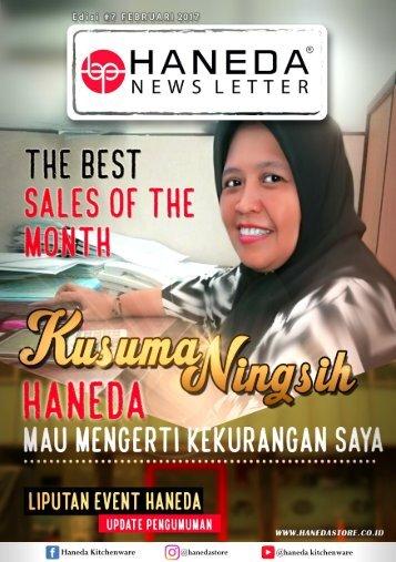 HANEDA Newslatter Februari 2017