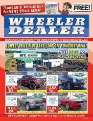 Wheeler Dealer Issue 13, 2017