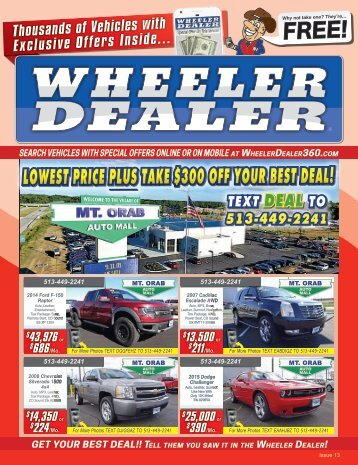 Wheeler Dealer Issue 13, 2017