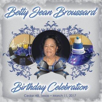 Flip Book_Betty's 70th Birthday