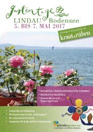 Gartentage Lindau 2017