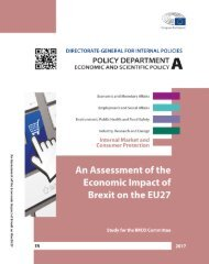 An Assessment of the Economic Impact of Brexit on the EU27