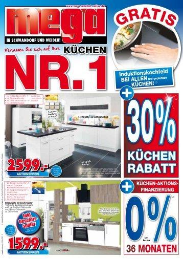Mega Küchen in Schwandorf + Weiden: Ihre Küchen Nr. 1