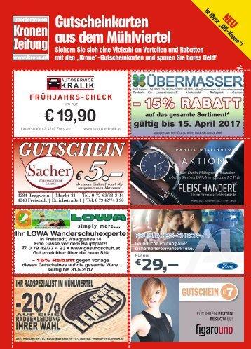 Gutscheinkarten Mühlviertel 2017-03-26
