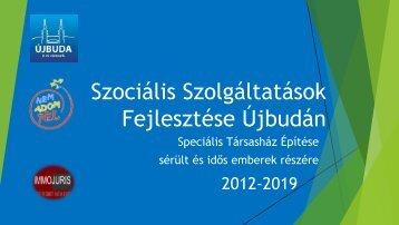 Szociális Szolgáltatások fejlesztése Újbudán