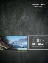LOWA Outdoor Footwear Highlights 2017