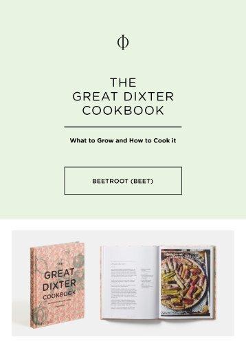 Great Dixter-Beetroot