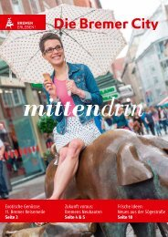 mittendrin Magazin - Die Bremer City im Frühjahr2017
