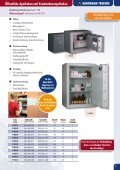 Betäubungsmitteltresore / Narcotics safes   - Page 7