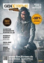 GenXtreme - Werk & Style Magazin 2017 Nr. 1