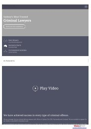LY Lawyers Initial Website Screenshots