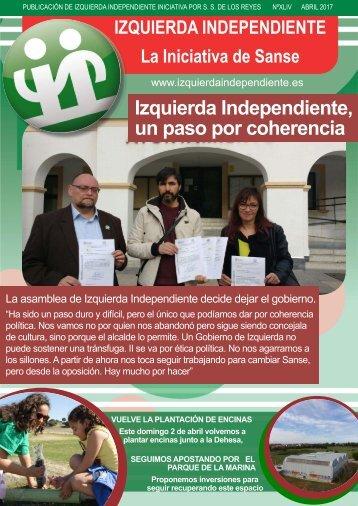 Izquierda Independiente un paso por coherencia