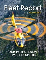 Asian Pacific Region Civil Helicopters Asian Sky Fleet Report Year End 2016