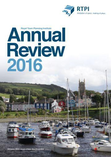 RTPI Annual Review 2016
