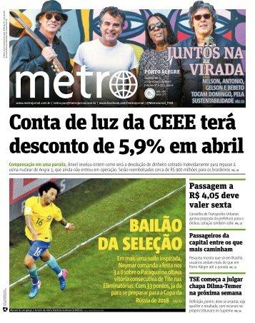 Conta de luz da CEEE terá desconto de 5,9% em abril