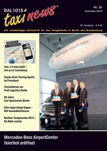 RAL 1015 taxi news Heft 10-2013