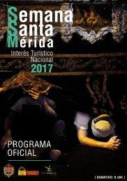 Programa de Mano Oficial de la Semana Santa 2017