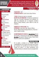 Programa de Mano Oficial de la Semana Santa 2017 - Page 6
