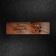 30x30 Leo e Flavia | Album aprovação