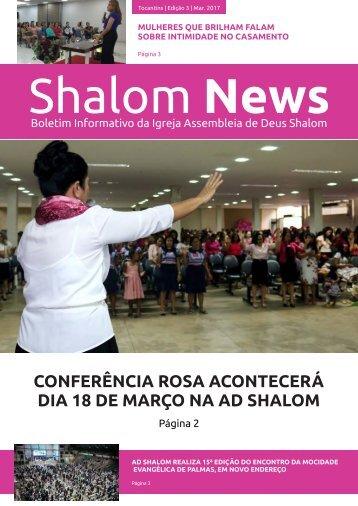 Boletim Informativo Shalom News - Março