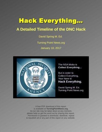 Hack Everything…