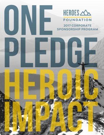 PLEDGE Heroic Impact