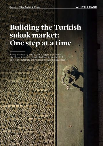 Building the Turkish sukuk market One step at a time
