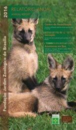Relatório Anual - Zoológico de Brasíilia