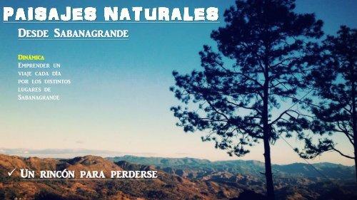 SITIOS NATURALES