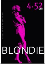4.52am Issue: 027 30th March 2017 - The Blondie Issue
