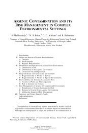 arsenic contamination and its risk management in complex ...