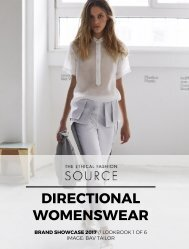 Brand Showcase 2017: Directional Womenswear