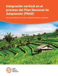 Integración vertical en el proceso del Plan Nacional de Adaptación (PNAD)