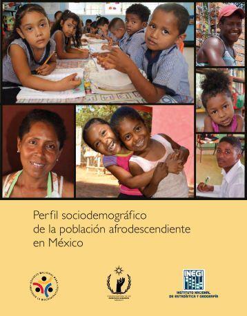 Perfil sociodemográfico de la población afrodescendiente en México