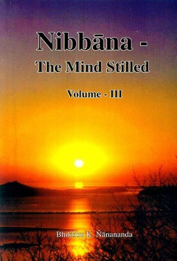 Nibbāna – The Mind Stilled