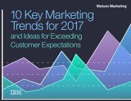 10 Key Marketing Trends for 2017
