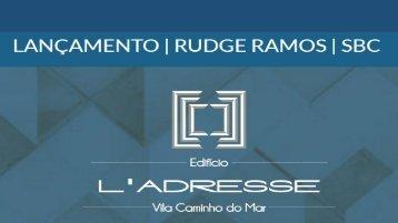 L'adresse Rudge Ramos - Lançamento