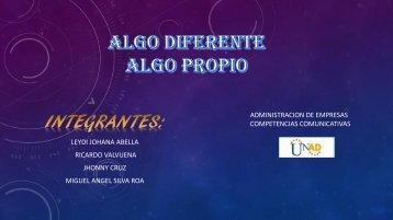 ALGO DIFERENTE 2 final