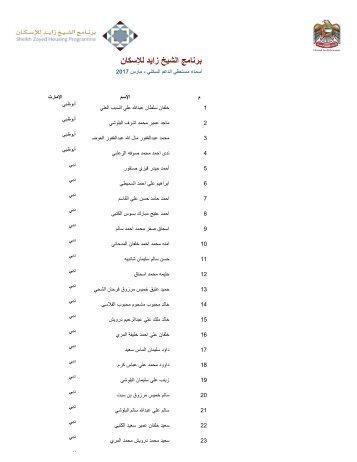 برنامج الشيخ زايد لإلسكان