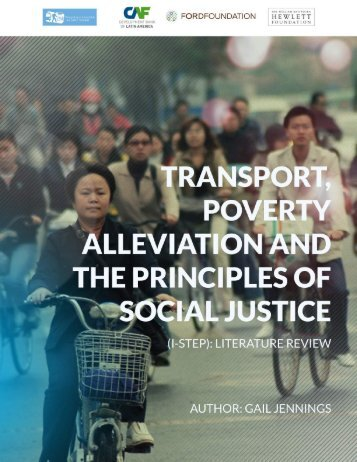 POVERTY ALLEVIATION AND THE PRINCIPLES OF SOCIAL JUSTICE