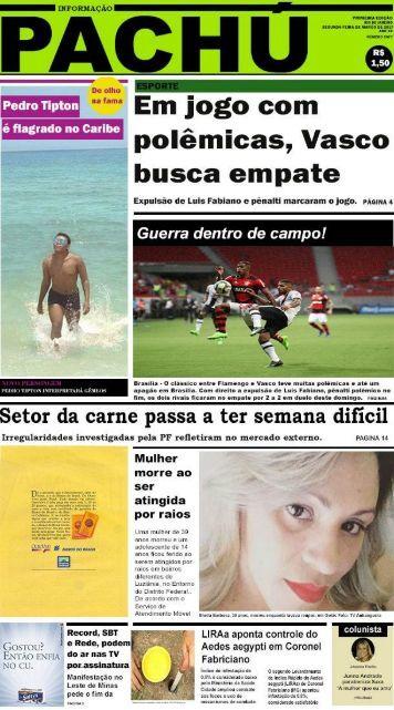 Capa de Jornal